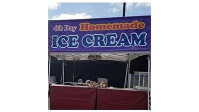 4th Day Homemade Ice Cream