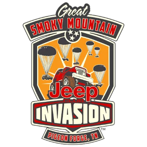 Great Smoky Mountain Jeep Club Invasion logo