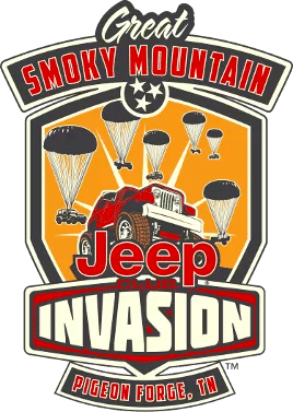 Great Smoky Mountain Jeep Invasion logo