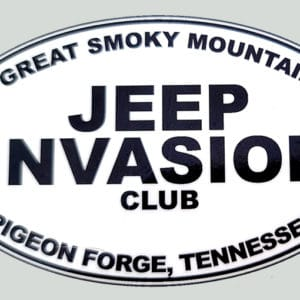 Great Smoky Mountain Jeep Club Invasion Decal