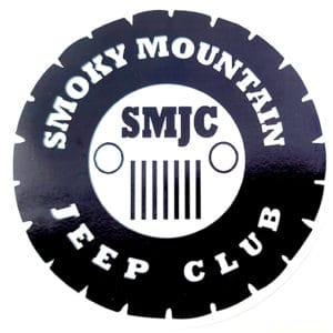 SMJC Jeep Logo Tire Decal